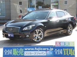 日産 フーガ 3.7 370GT タイプS 黒革シート レーダークルーズ 新品タイヤ
