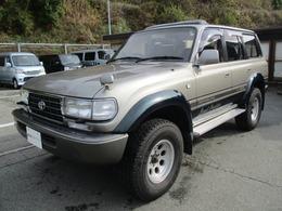 トヨタ ランドクルーザー80 4.2 VXリミテッド ディーゼルターボ 4WD リフトアップ