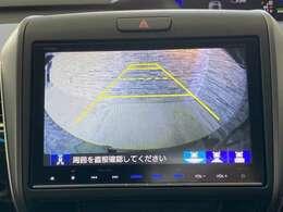 駐車時にとても便利なバックモニターが搭載されています!駐車が苦手な方も安心ですね!