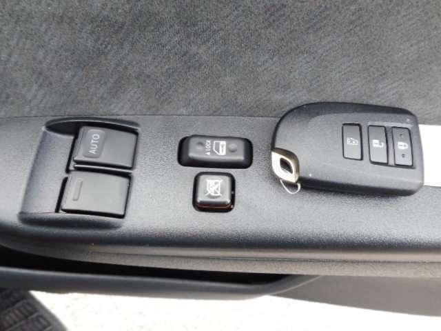 スマートキーでわずらわしい鍵をささなくていいね!
