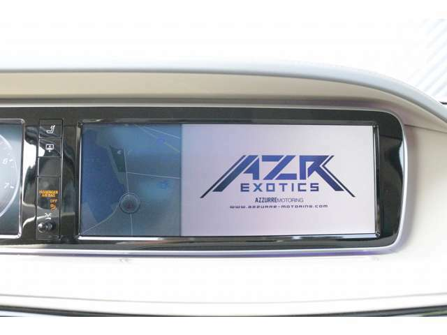 純正HDDナビ!CD/DVDチェンジャー(6枚)、シートポジション機能、赤外線断熱ガラス装備!