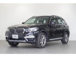 BMW X3 xドライブ20d xライン ディーゼルターボ 4WD 茶本革 追従クルコン 純正HDDナビ TV ETC