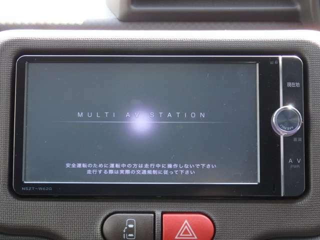 ドライブには必需品!!純正SDナビ付きです!フルセグTVも視聴可能です!!