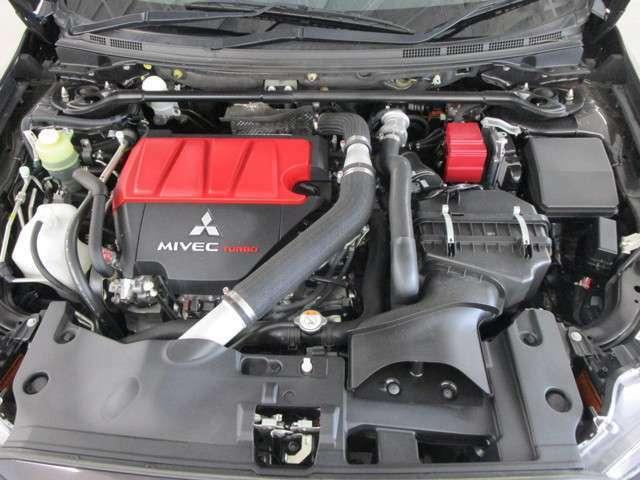4B11 MIVEC ツインスクロールターボエンジン