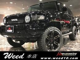 トヨタ FJクルーザー 4.0 ブラックカラーパッケージ 4WD WILD BKスタイル O/F リフトUP インテリア