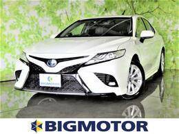 トヨタ カムリ 2.5 WS 8インチメモリーナビ/シートハーフレザー