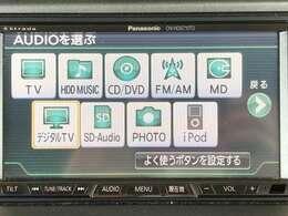 ◆◇◆社外HDDナビ◆◇◆CD/DVD/MD/音楽録音/フルセグTV 【CN-HDS710TD】