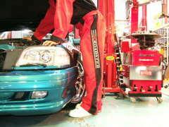 車検など、メンテナンスも安心!アフターサービスも充実です。