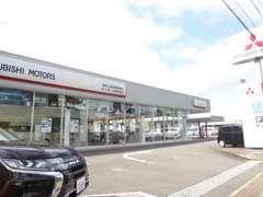 当店は諫早インターより、車で5分!長崎方面から諫早方面へ向かい、左手にございます!大きな三菱の看板が目印です☆