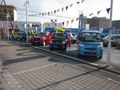 当店の展示車は良質車のみを扱っております。安心してお買い求め下さい!