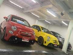 ■□■中古車も多数展示しています。グループ総在庫50台以上!