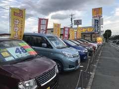 買い取りだけでなく、中古車も常時展示中!お買い得なお車をご準備してお客様のご来店をお待ちしております!(^^)!
