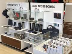BMWアクセサリーも販売しております。