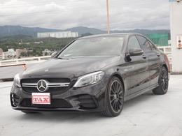 メルセデスAMG Cクラス C43 4マチック 4WD MC後モデル SR 黒革シート HUD 禁煙車