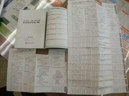当社入庫時にトヨタにて点検済み!車検R4年2月!過去の記録簿も抜けなくしっかり残っています☆