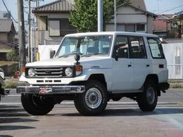 トヨタ ランドクルーザー70 4.2 LX ディーゼル 4WD NOX適合 DEANホイール BFタイヤ