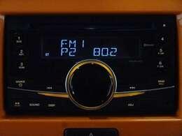 レトロ調の車両にはFM/AM付CDオーディオが良く似合う?ナビに取り換えする事も可能です。ご相談下さい!
