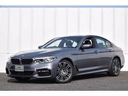 BMW 5シリーズ 523i Mスポーツ 正規認定中古車 イノベP Dアシ Pアシ 黒革