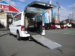 日産 NV200バネットバン 1.6 チェアキャブ 車いす1名仕様 専用サードシート有 純正メモリーナビ 純正ドラレコ ETC