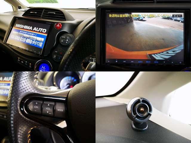 大画面 9型 純正オプション高品質カーナビ フルセグTV DVD CD録音 バックカメラ完備 2年の保証延長も加入できますよ