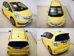 探すと少ない スポーツハイブリッド 7速パドルシフトで楽しい車です スタイルも素敵 幸せの黄色 プレミアムイエローパールが良いですね 車も綺麗ですよ、更に 珍しい レザーパッケージ 黒革シート付