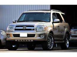 米国トヨタ セコイア リミテッド 4.7 V8 4WD レザーシート ハイトコントロール