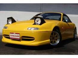 800台限定車・純正5速MT・1800EG換装済・エアロFSR・ブリッツ車高調・外14アルミ・MOMOステアリング・柿本マフラー・ハードトップ付き・NARDIシフトノブ・