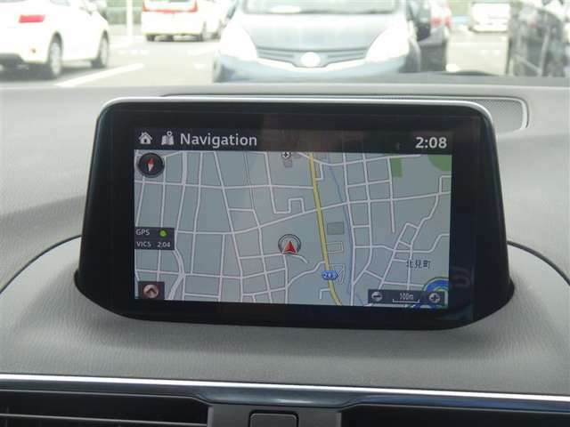 メモリーナビ+フルセグTV+バックモニター+ETC付きです!初めての道も迷いにくく、ロングドライブも快適ですよ♪