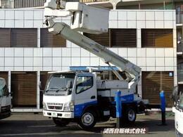 三菱ふそう キャンター 高所作業車 14.6m NOX適合