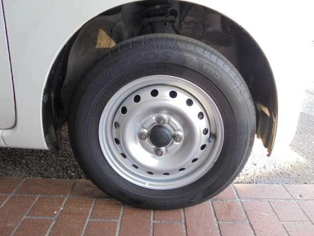 タイヤもまだまだ使えます