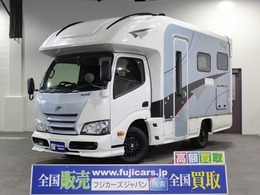トヨタ カムロード キャンピング ナッツRV クレアスティング 5.3X 4WD 家庭用AC ソーラー FFヒーター