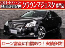 トヨタ クラウンマジェスタ 4.6 Cタイプ 黒革/エアロ/20AW/プレミアムサウンド