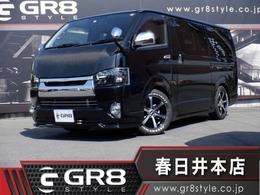 トヨタ ハイエースバン 2.0 スーパーGL ロング 1オナ SDナビTV GR8 Fリップ 新品17inAW