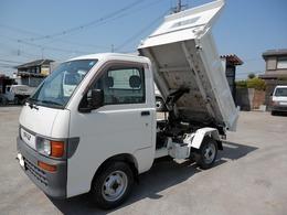ダイハツ ハイゼットトラック 4WD極東 土砂禁ダンプ No.B035