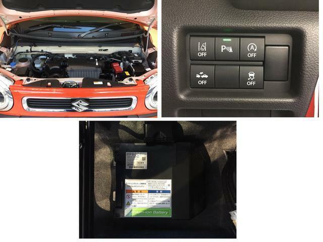 アイドリングストップシステム搭載で 無駄な燃料消費だけでなく排出ガスと騒音も抑えます