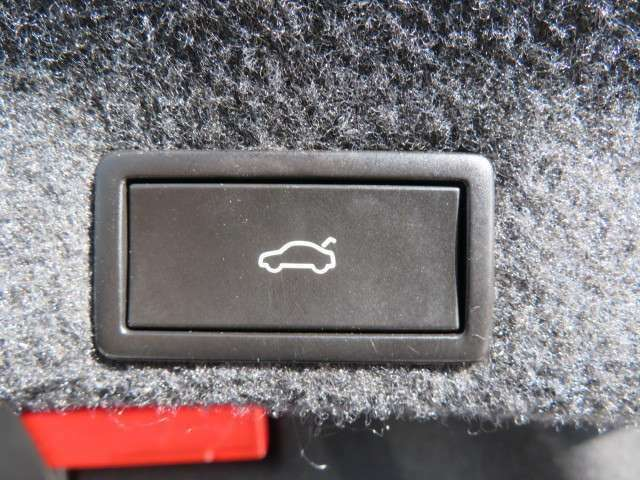 トランク開閉もボタン一つで楽々!