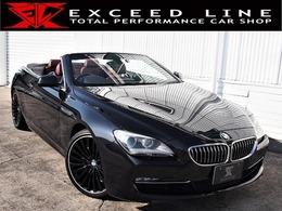 BMW 6シリーズカブリオレ 640i HDD/地デジ/Bモニ/赤革/電動シート/20AW