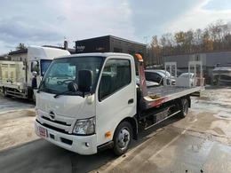 日野自動車 デュトロ 4.0 ロングワイド 積載車 UNIC NEO5 搬送車