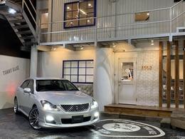 トヨタ クラウンアスリート 2.5 i-Four ナビパッケージ 4WD モデリスタエアロ/LOXARNY20インチホイール