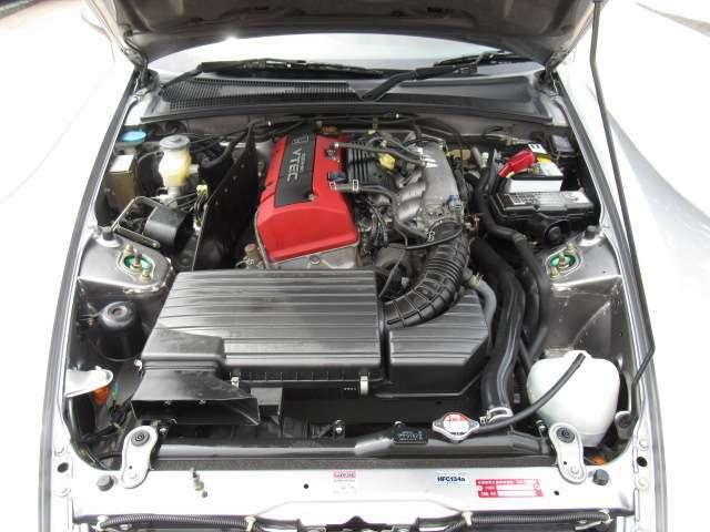 F20C VTECエンジン搭載♪高回転まで気持ちよく回ります☆