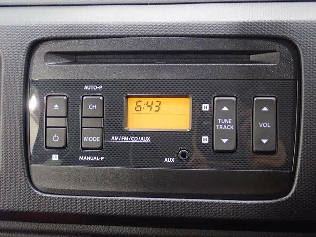 CD/ラジオプレイヤー付です。各種オーディオやナビゲーションの取り付けも是非ご相談ください。