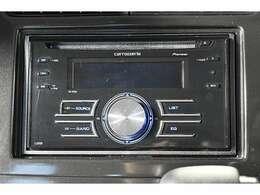 『CDステレオ』装備。お好みのサウンドで楽しくドライブ♪カロッツェリアFH-P530