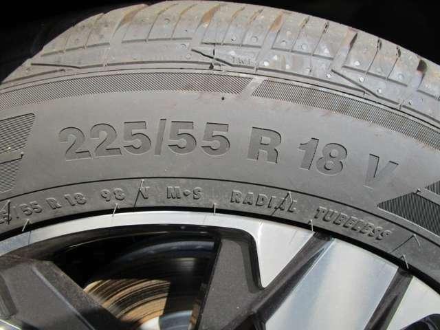 225/55R18タイヤ