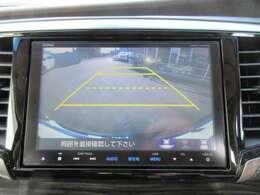 純正ギャザーズ8型SDナビ付き♪ ガイド線付バックカメラで駐車も安心ですね♪ モニターも大きくとても見やすいので、駐車が不安な方でも安心です♪