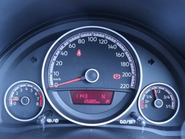 スピードメーター、タコメーターは見やすいアナログメーターになっており、中心にあるディスプレイには、油温、時間などを表示することができます!