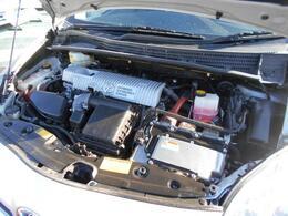 エンジン、モーター、ツインパワーで低燃費!