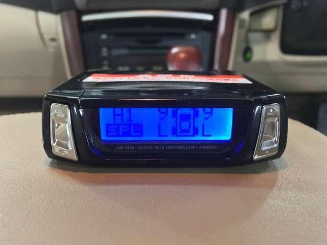 新品エアサスコントローラー☆ 5個の車高のメモリーを設定できます☆ ボタン一つで車高の上げ下げができます☆ 2級整備士常駐☆ 自社ピット完備☆ お好みの追加カスタムも承ります☆ お気軽にご相談下さい☆