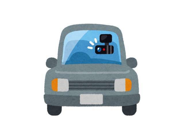 Bプラン画像:事故やあおり運転の記録に前方・後方ドライブレコーダーを設置して安心(^^♪