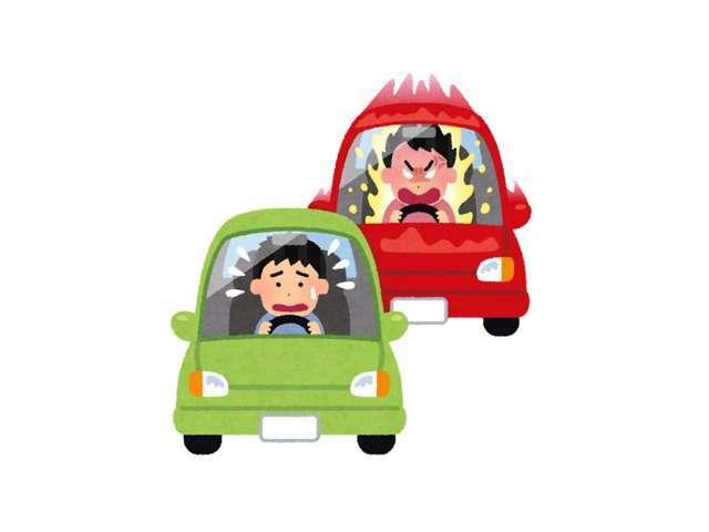 あおり運転の摘発数は増加傾向にあります。安心安全なカーライフをお過ごしください。