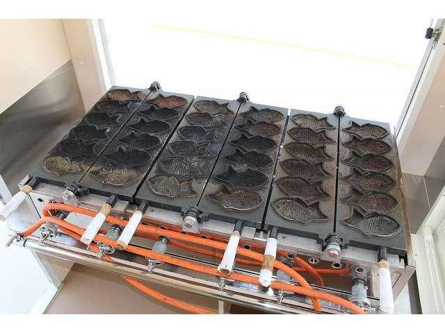 たい焼き機もございます☆台に固定はしていないので取り外しも可能です!